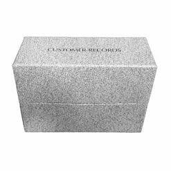 Direct Salon Supplies Standard Customer Record Box