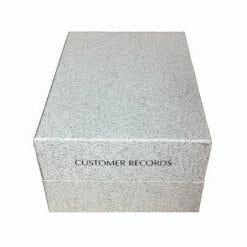 Direct Salon Supplies Large Customer Record Box